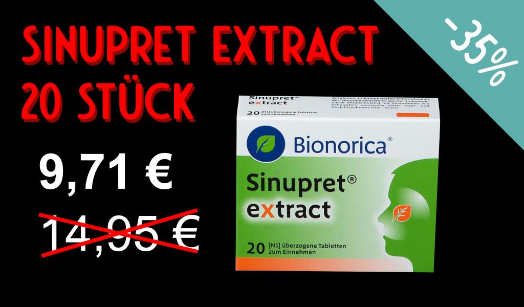 Sinupret® extract 20 Stück